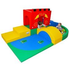 Complex de joacă Castel Medieval Red