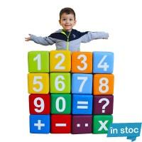Set 16 Cuburi Numere